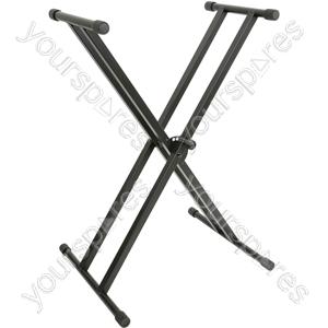Double X-braced Keyboard Stand - KSX-2