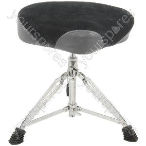 Heavy Duty Drum Thrones - HD deluxe saddle - CDT-4