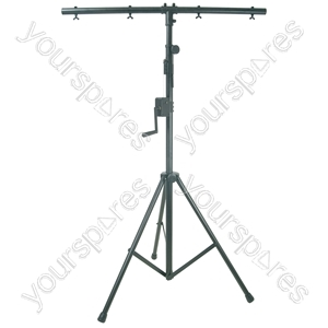 Heavy Duty Lighting Stand with Winch & T-bar - 3m - LT05