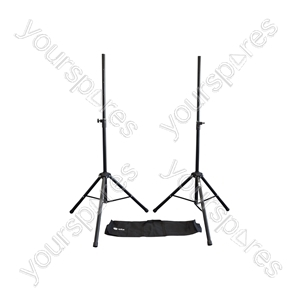 Speaker Stand Kit with Bag - 2pcs Steel