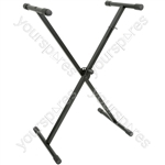 Single X-braced Keyboard Stand - KSX-1