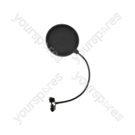 """6.5"""" Microphone Pop Screens - with Standard Clamp - POPS1"""