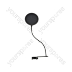 """6.5"""" Microphone Pop Screens - with Extended Clamp - POPS1EX"""