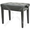 Piano Benches - - black (without compartment) - PB660H-BK