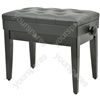 Piano Benches - with storage - black - PB660HS-BK