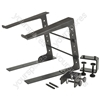 Compact Laptop Stand - (with Desk Clamps) - LS-01C