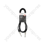 Classic 6.3mm TRS Jack to 6.3mm TRS Jack Leads - Jack-Jack 6.35mm 3.0m - S6J300
