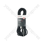 Classic 6.3mm TRS Jack to 6.3mm TRS Jack Leads - Jack-Jack 6.35mm 6.0m - S6J600