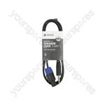 Essential Speaker Leads 6.3mm Mono Jack Plug - Speaker Plug - 1.5m