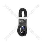 Essential Speaker Leads 6.3mm Mono Jack Plug - Speaker Plug - 12.0m