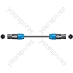 Spk Plug to Spk Plug Speaker Leads - Standard 1.5m