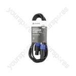 Spk Plug to Spk Plug Speaker Leads - Standard 3.0m