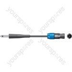 Classic 6.3mm Jack to Spk Plug Speaker Leads - - 3.0m - SPK-J300