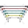 Classic Patch Leads - Multicolour 6 pcs 0.15m - PATCH015CL