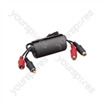 Ground Loop Isolator RCA Plugs - RCA Sockets - High quality