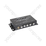 4 Channel Video Signal Amplifier/Splitter - amplifier/splitter - RFAMP-903