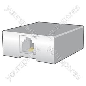 US24 Modular socket, 6P4C female - blister