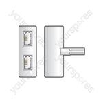 H007 Telephone double adaptor - blister