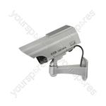 Dummy Solar Powered Infrared Bullet Security Camera - IR