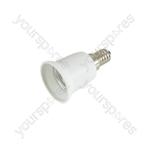 Lamp Socket Converter (E14 - E27) - Converter, to
