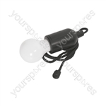 LED Pull Light - - Black