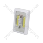 LED Switch Light - White - SWITCH-LW