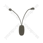 LED Gooseneck Clip-on Lights - LC2 2LED