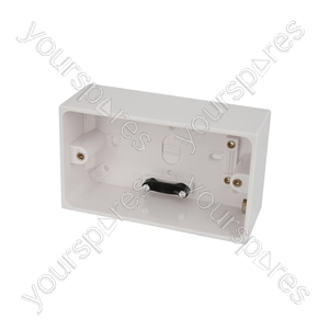 Double Surface Back Boxes - Box, 47mm