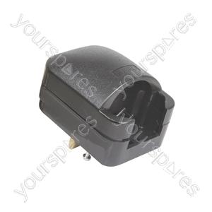 SCP3 Fused European Converter Plug - Black 13A rated plug- bulk