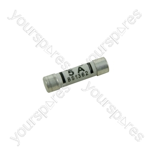 Domestic Mains Fuses - plug fuse, 4 x 5A