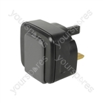Twin USB Mains Charger 2.4A - USB-UK224v2