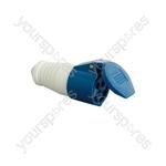 Line Socket, 16A, 3 Pole - CEE