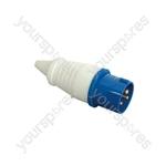 Line Plug, 16A, 3 Pole - CEE