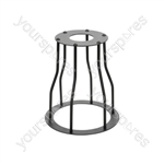 Decorative Lamp Cages - - Bell - Black - LC-6B
