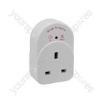 Anti-surge UK Socket Adaptor - Plug