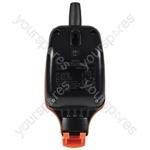 Weatherproof 1 Gang Outdoor Socket - IP54