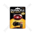 Duracell Bike Lights - Rear LED - DRBL2