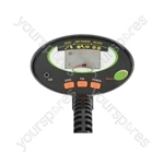 Advanced Metal Detector with LCD Display - MED-04