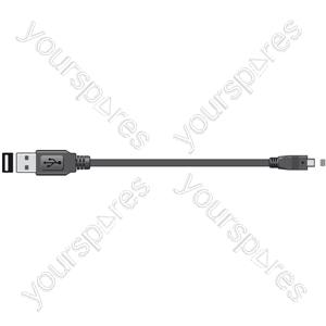 USB Digital Camera Lead - Lead, to 8-pin mini plug, 1.8m
