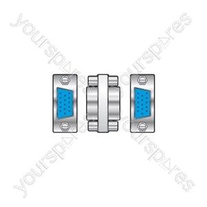 15-pin VGA Gender Changers - changer, socket to socket