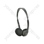 Lightweight Computer Headphones - MC27