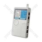 Remote Cable Tester 4 Port - TST-C1