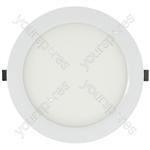 Slim Profile LED Downlights - 220mm White Trim 10W 3000K - LED-DLW220-10WW