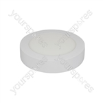 LED Bulkhead Surface Mount Lights - 170mm White Trim 12W 880lm 6000K - LED-BHW170-12CW