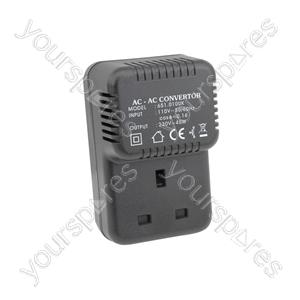 UK Step-up Voltage Converter 110V - 220V (45VA) - 230V 45W - US2UK45VA