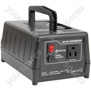 Step-down Voltage Converters 240V - 120V 300W - (UK version) down230 120Vac converter - SDVC-300