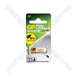 GP High Voltage Alkaline Batteries - 23AE 12V battery - 1 piece on blister