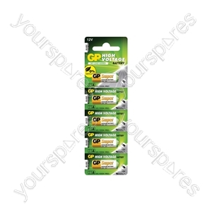 GP High Voltage Alkaline Batteries - 23AE 12V battery - 5 pieces on blister