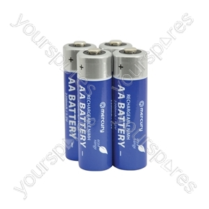 AAA 900mAh Eco NiMH Rechargeable battery/4