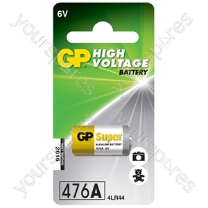 GP High Voltage Alkaline Batteries - 4LR44 6V battery - 1 piece on blister